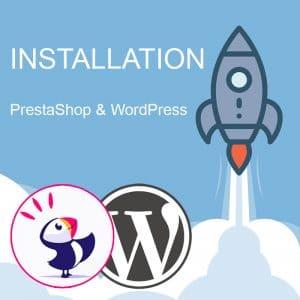 Installation thème PrestaShop et WordPress